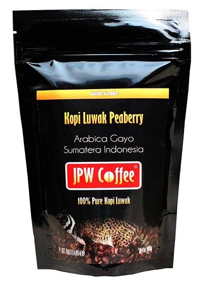 Kopi Luwak Peaberry Gold Grade